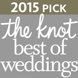 Best of The Knot Weddings Award 2015