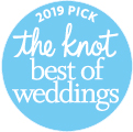 Best of The Knot Weddings Award 2019